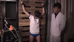 Small tits japanese electro torture HD
