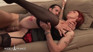 Hard nailining together with sexy stepmom