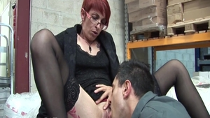 Short haired french amateur anal fucking HD