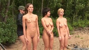 Big tits brunette group sex strapon outdoors HD