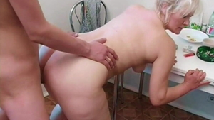 Young russian blonde hair raw sucking dick in HD