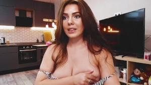 Shaved russian girl needs hard fucking in HD