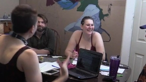 Young tattooed amateur roleplay in HD