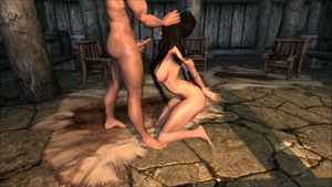 Muscled hairy celebrity skyrim footjob on Halloween