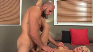 Hairy pussy mature needs plowing hard in HD