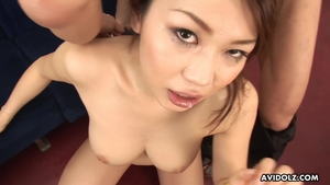 Cumshot hairy japanese HD