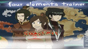 'Spooky Times 2 - A Four Elements Trainer Side Story Part 1'