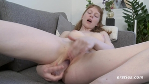 Petite redhead wishes for hard nailining
