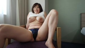 Hairy asian MILF goes wild on cock