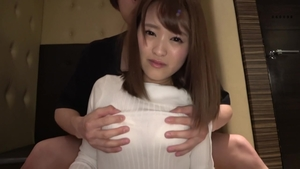 Beautiful japanese brunette fun with toys