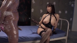 Big tits asian mature need gets pussy sex in stockings HD