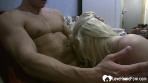 Wet amateur rushes plowing hard