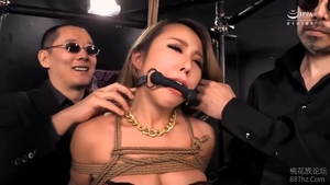Hairy asian fetish playing with toys