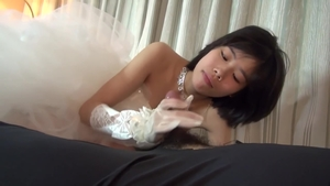 Small tits asian teen cosplay threesome