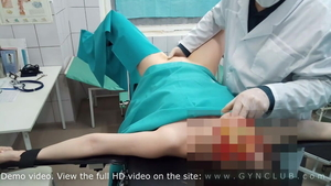 Sex scene in company with gynecologist
