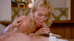 Joanna Storm together with Janey Robbins cock sucking
