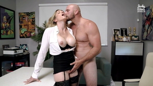 European Cory Chase seduced in office