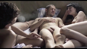 Latina bisexual lusts threesome HD