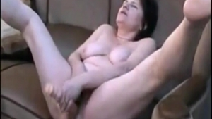 POV nailing in the company of hairy MILF