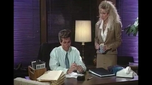 Victoria Paris plus Tracey Adams sucking cock in office in HD