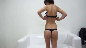 Czech bubble butt babe playing with toys solo