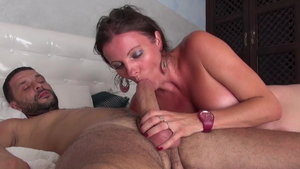 Caroline Tosca double penetration during interview in HD