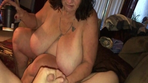 Big ass mature POV pounding