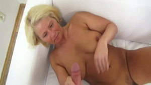 Super sexy czech first time playing with sex toys