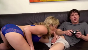 Very huge tits Cory Chase stepmom threesome video
