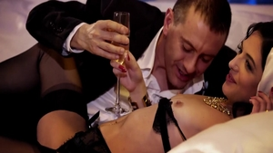 Glamour Claire Castel has a thing for orgy
