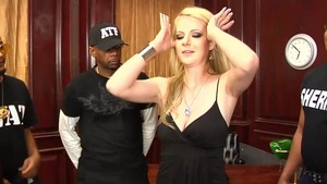 Tight Anita Blue blonde haired swallow scene