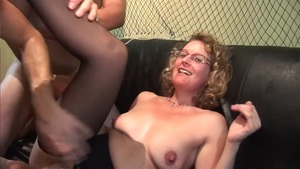 Aged european mature has a thing for rough fucking in HD