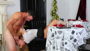 Rough sex with blonde hair Britney Amber