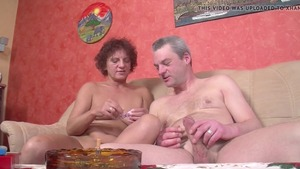 Raw sex together with aged mature