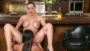 Tanya Tate bends to get fucked