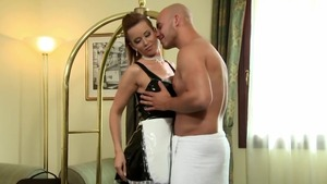 Erotic Cindy Dollar bends to get fucked