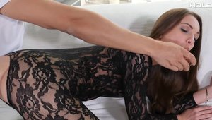HOLED: Erotic Veronika Clark toys action