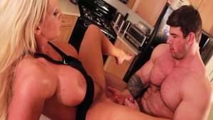 Alura Jenson fucked hard in the kitchen