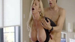 Sexy mature Alexis Fawx having fun with Xander Corvus
