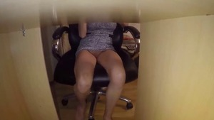 POV nailing alongside brunette