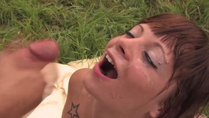 Antonia Deona rough cum swallowing