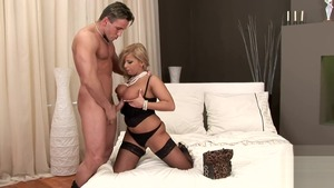 Large tits pornstar Lucy Love fucking in the ass